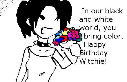 happy birthday witchie by Paranormalfreak