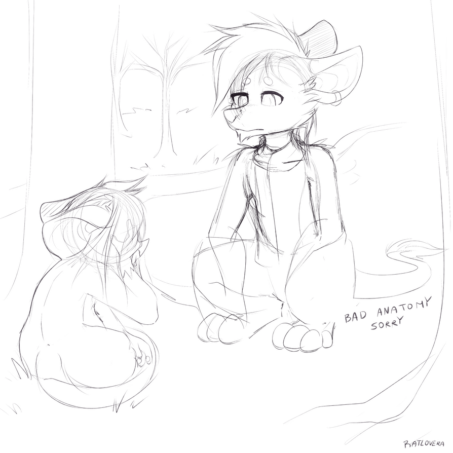 back story wip 1 by Ratlovera