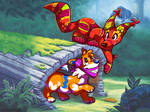The fox and the hound except its TQBF and Bandetto