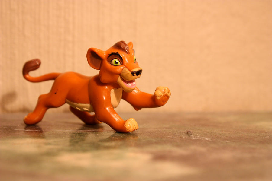 The Lion King 2 - Kovu figure by CrocodileRawk