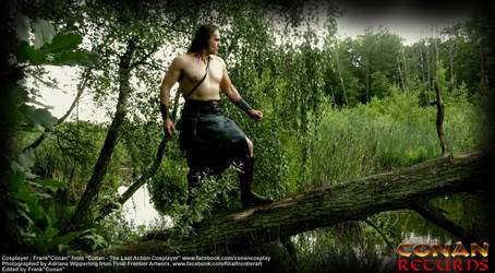CONAN in the swamp forrest