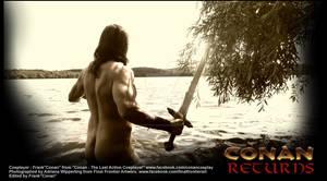 Conan at the lake