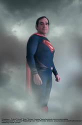 SUPERMAN beneath the sky