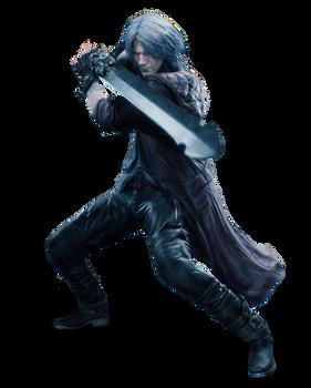Dante Rebellion - PNG render