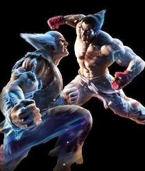 Kazuya vs Heihachi render (request)
