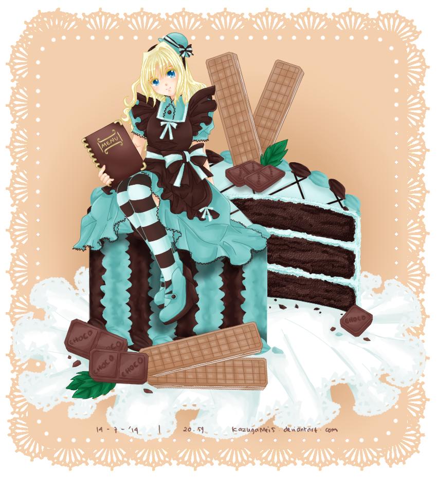 Cake : ChocoMint by KazugaMei5