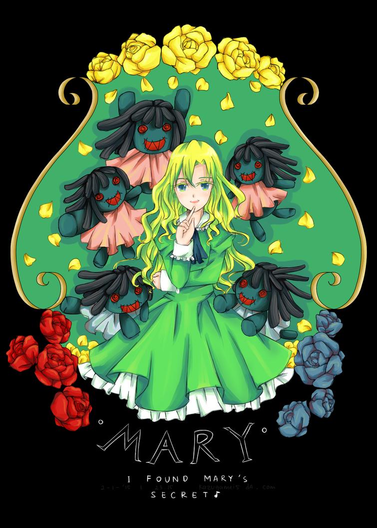 FanArt : I Found Mary's Secret~ by KazugaMei5