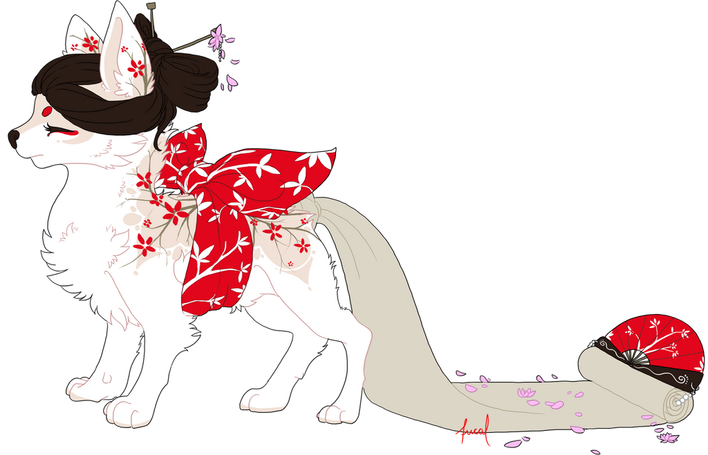 *Mirai (Maildog by Fucal) by CylaDavenport
