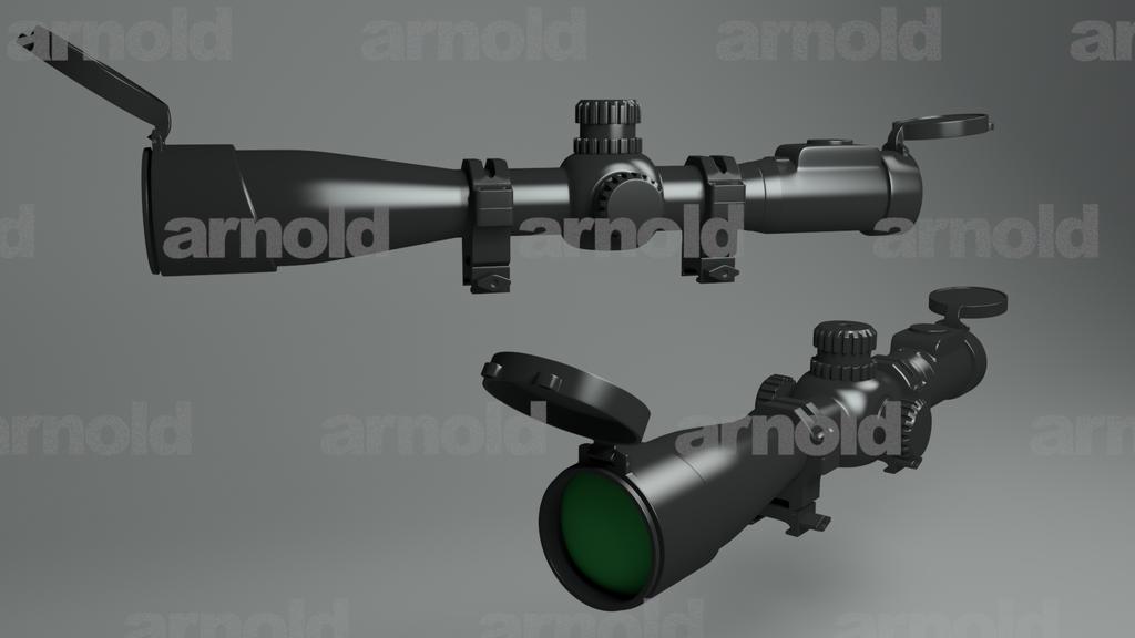 Sniper Scope by CylaDavenport