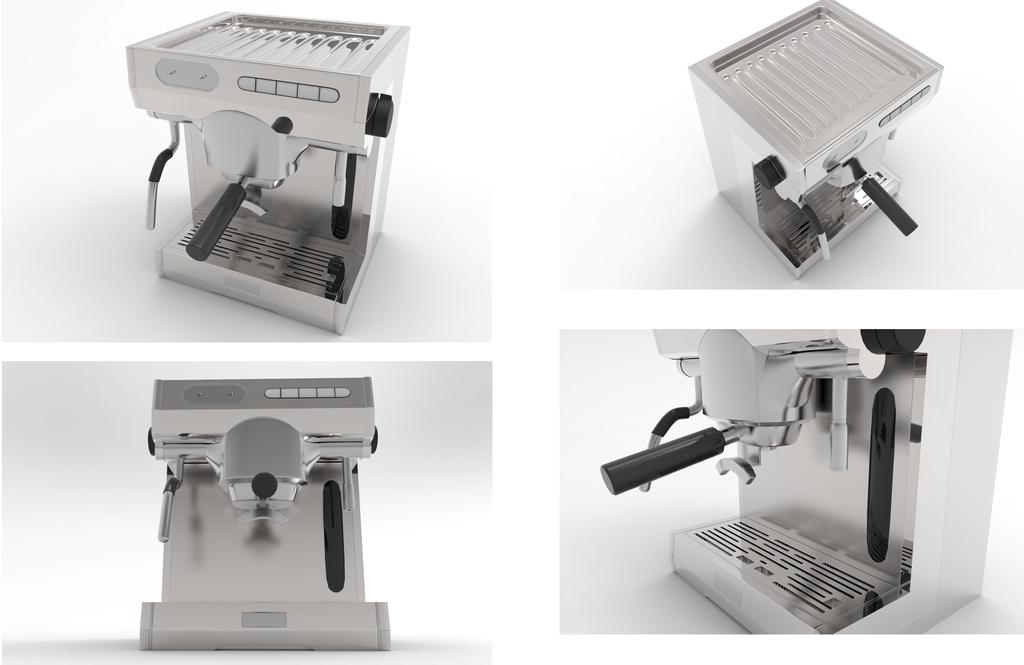 Coffee Machine by CylaDavenport