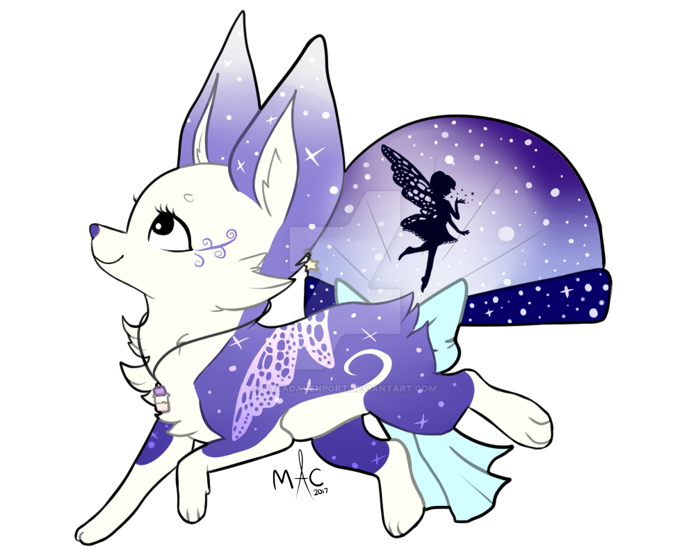 [CLOSED] Moonlight Fairy by CylaDavenport