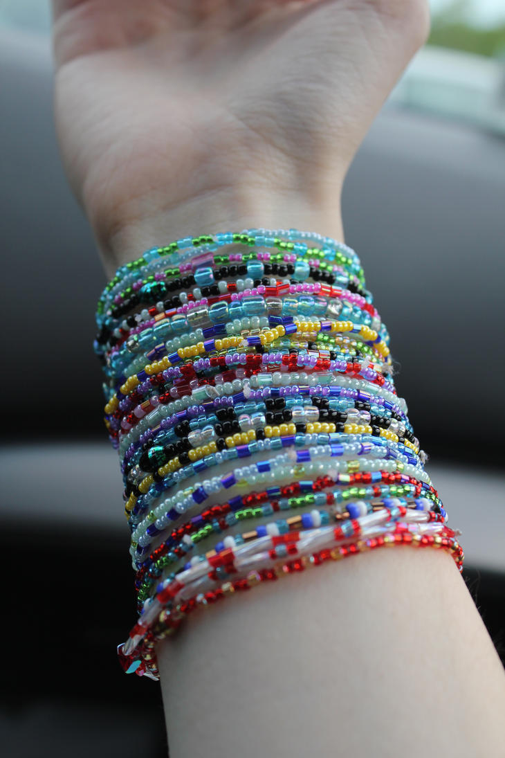 how to make arm bracelets