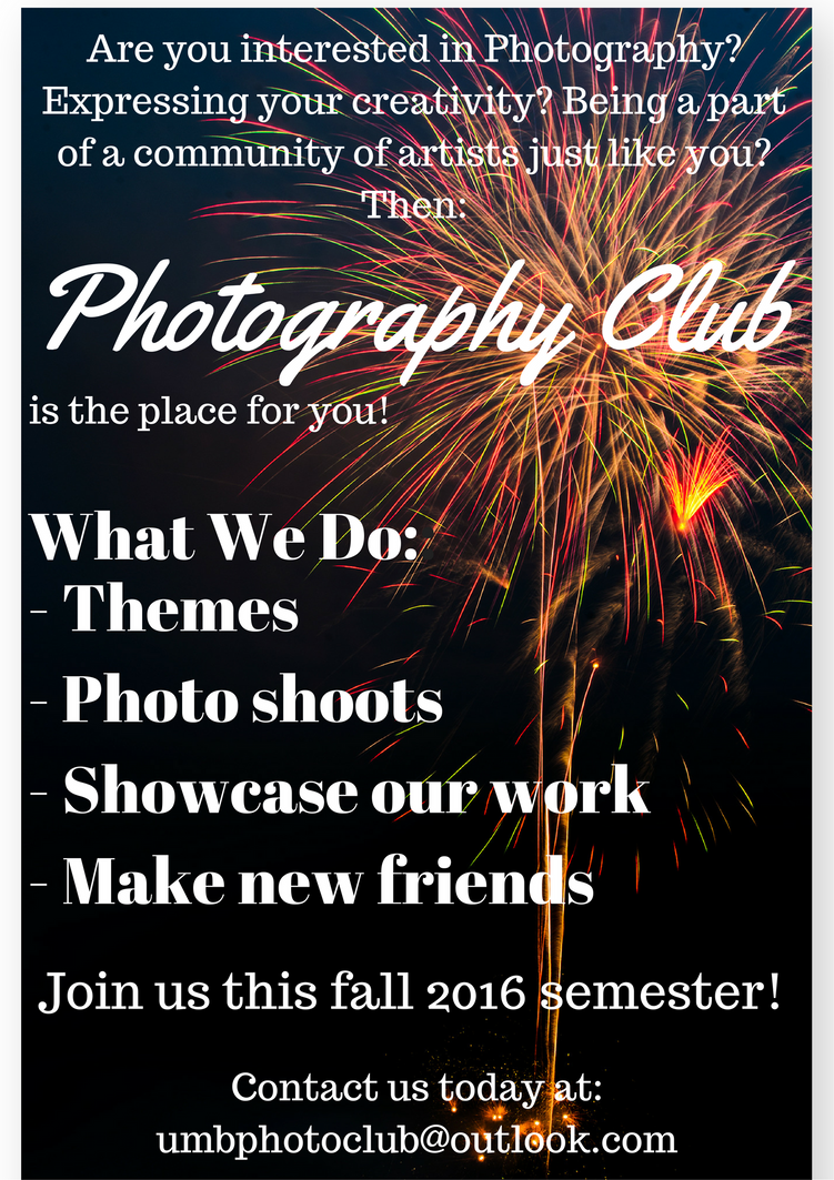 photography club flyer 1 by h everybody lies md