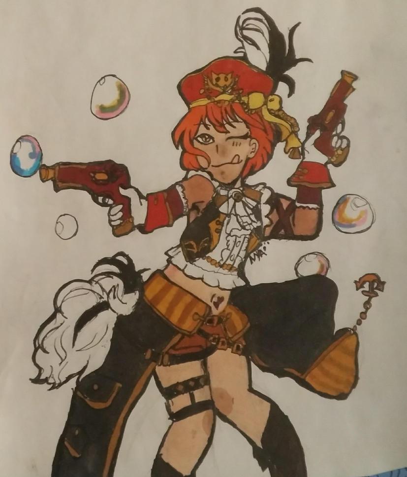 Pirate UR Rin by DootDoo