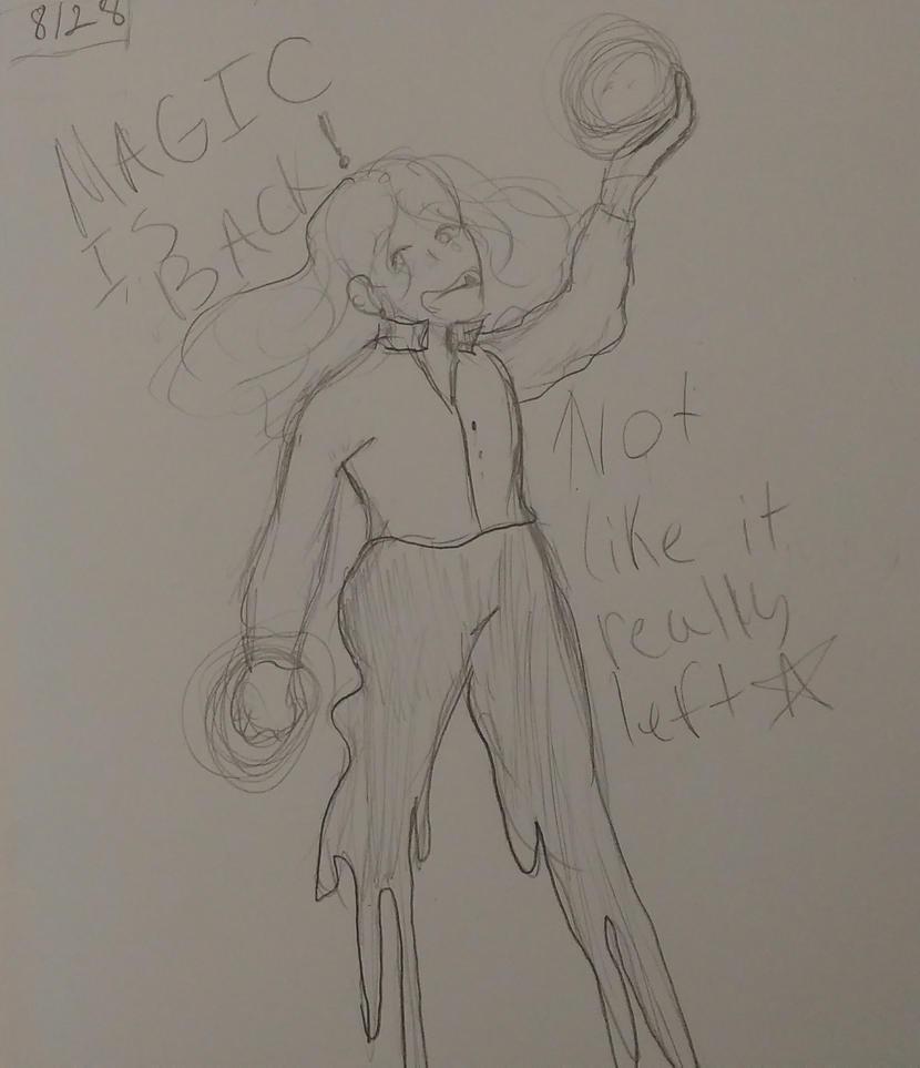 Art Class sketch prompt #1 We're Back by DootDoo