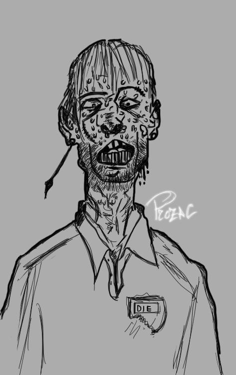 Zombie by p1xeleye