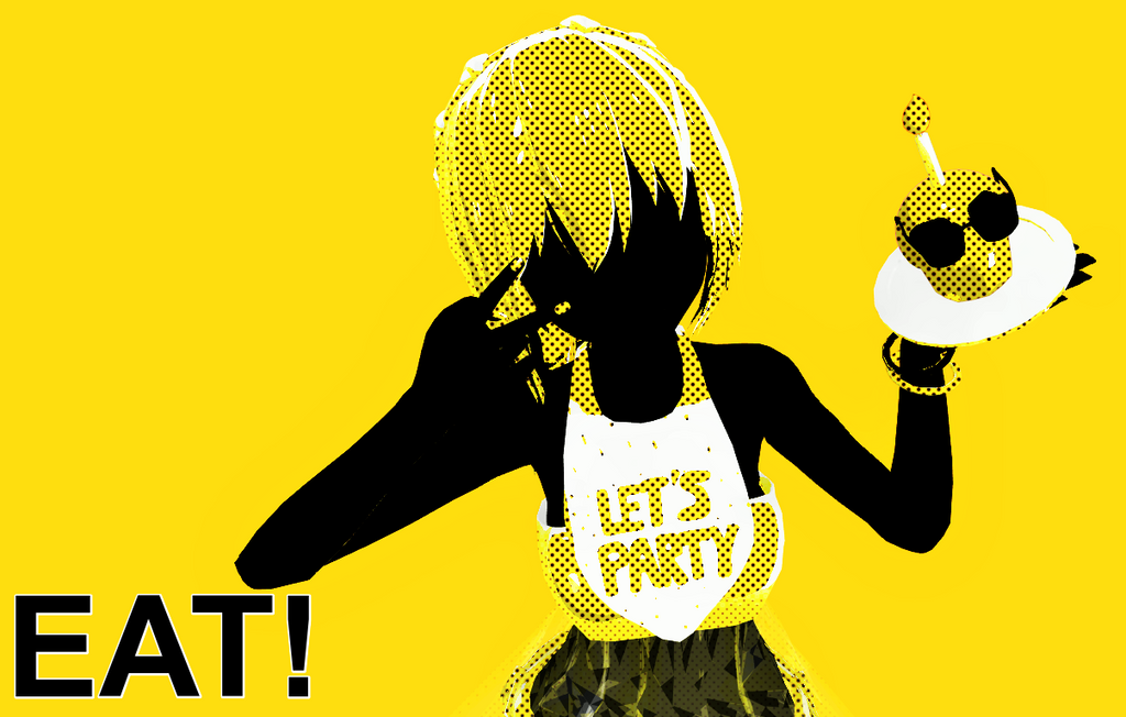 EAT! (Toy Chica) by NeyMarlon
