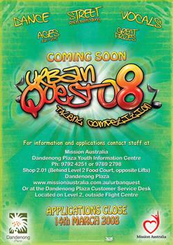 URBAN QUEST 2008 COMING SOON
