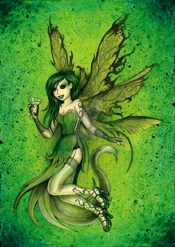 GREEN FAIRY by beanarts