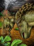 Pachycephalosaurus Battle
