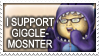 I support Giggle monster by beanarts