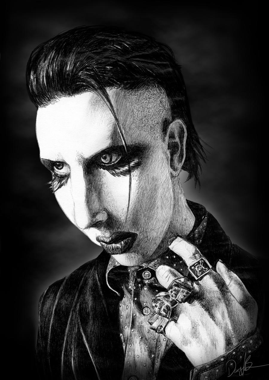 Marilyn Manson Personal Jesus by beanarts