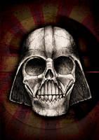 Death Vader Skull by beanarts