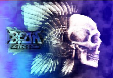 Skullfish Distorted by beanarts