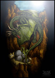 Dragon. by beanarts