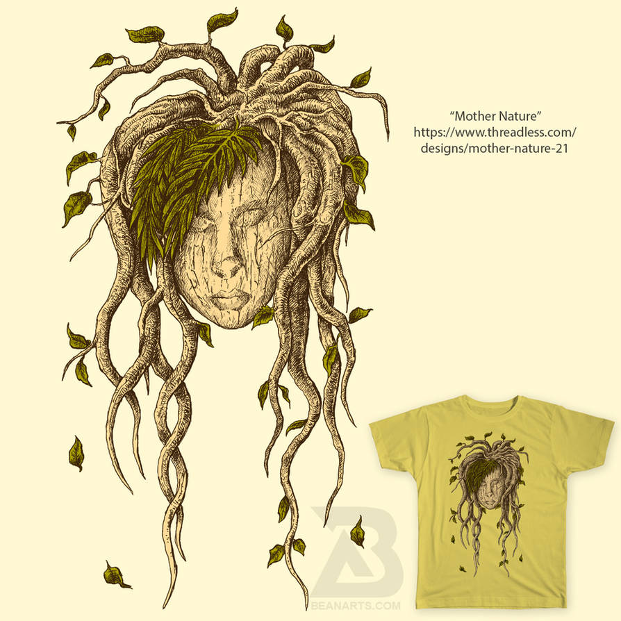 Mother Nature Threadless Tshirt