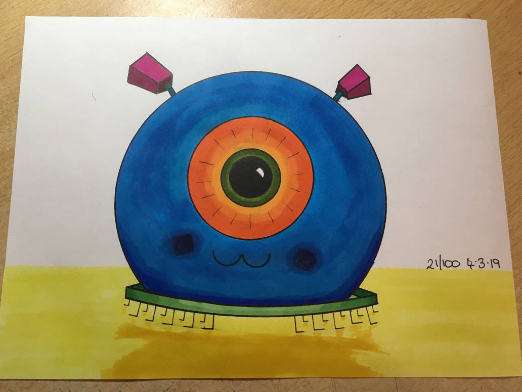 Robot 21/100 by CraftedByColette