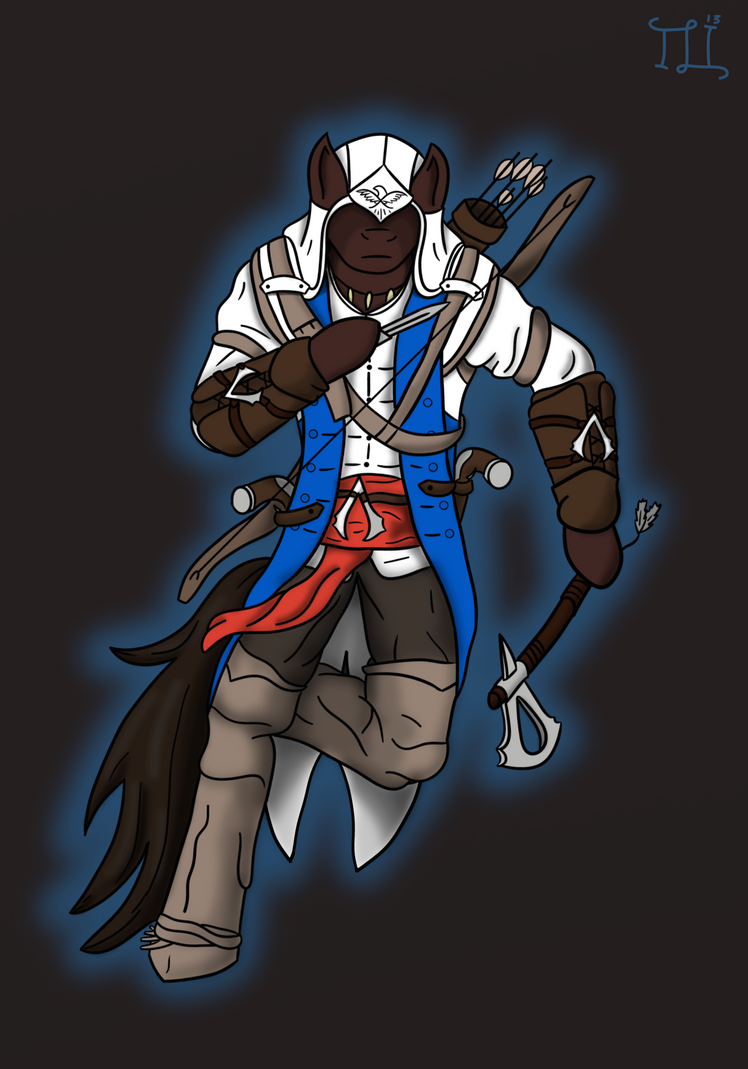 ponyfied connor by Lucandreus