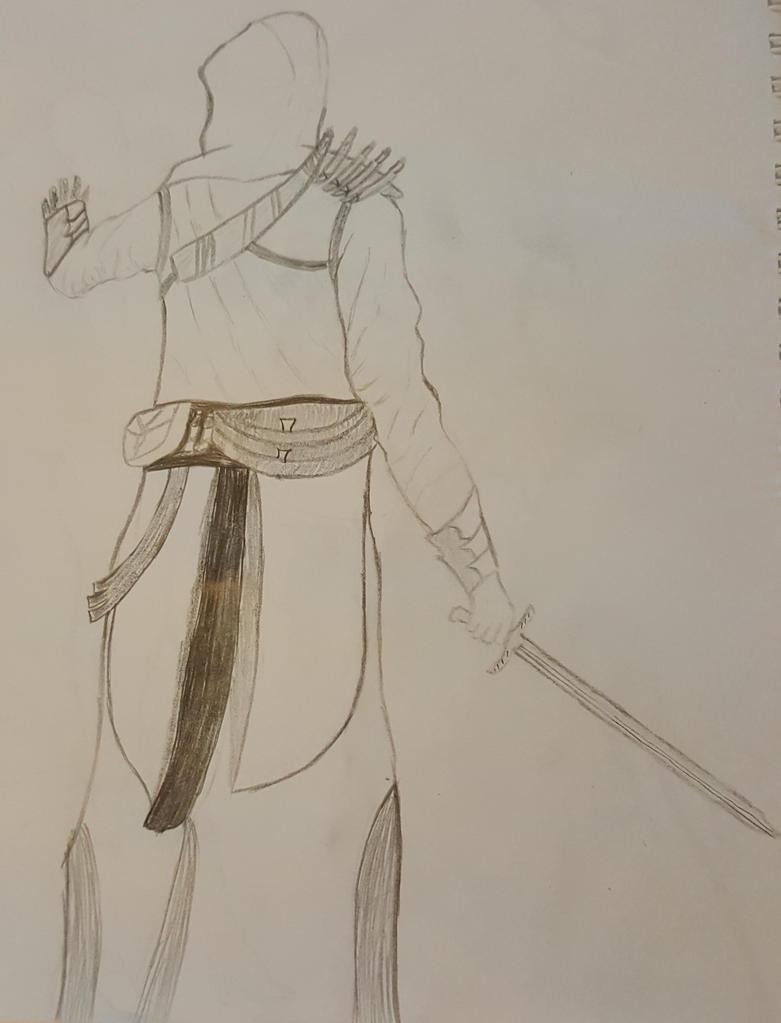 Altair sketch by GraveNoX