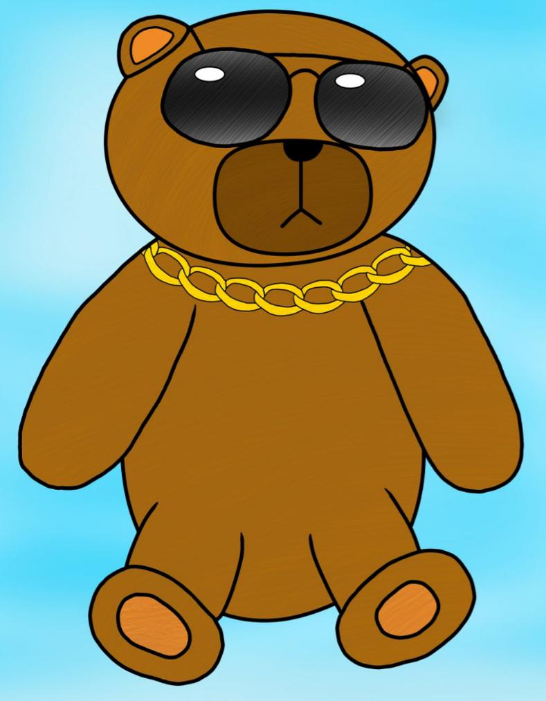 Teddy Bear by GraveNoX