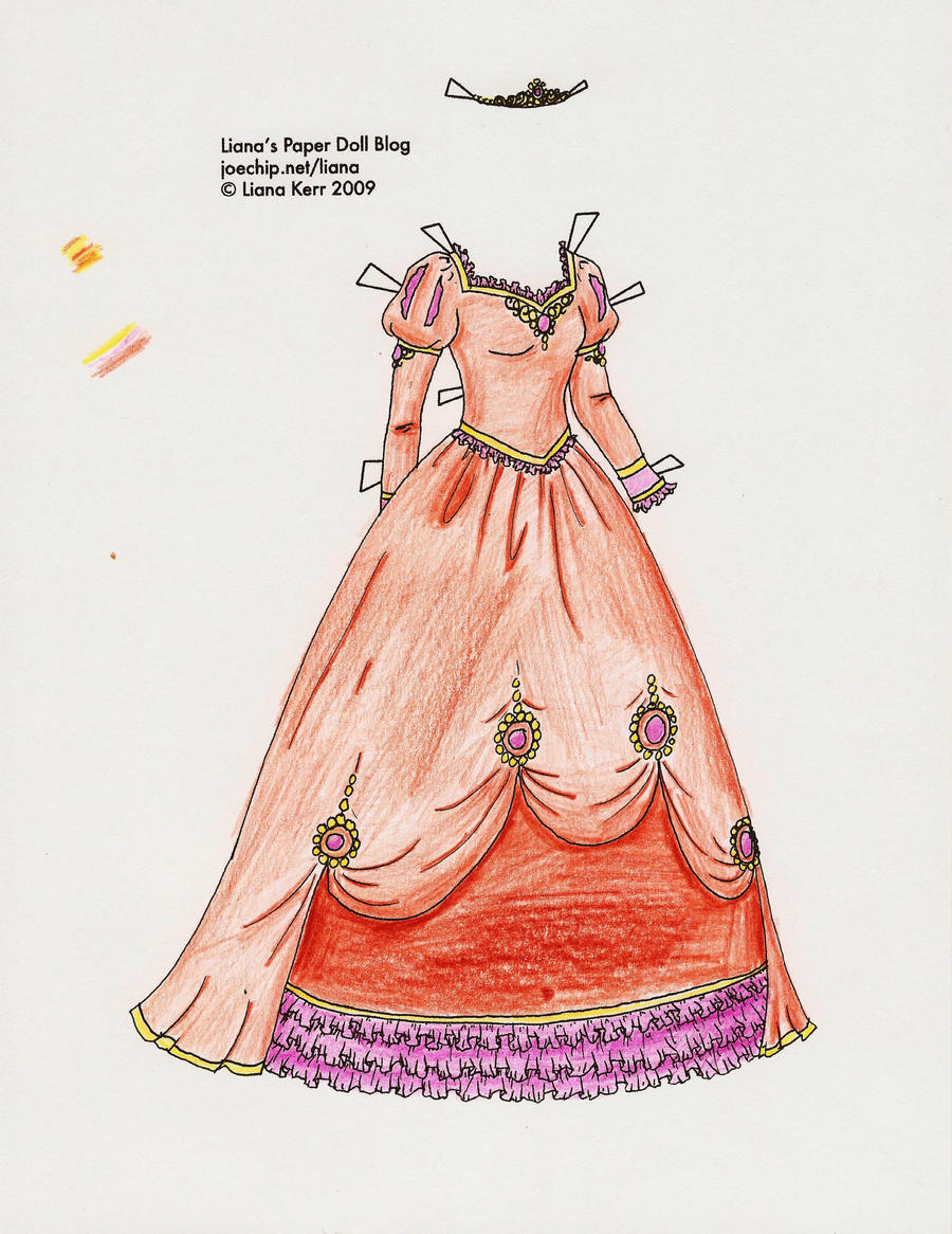 Princess Ball Gown by Liana