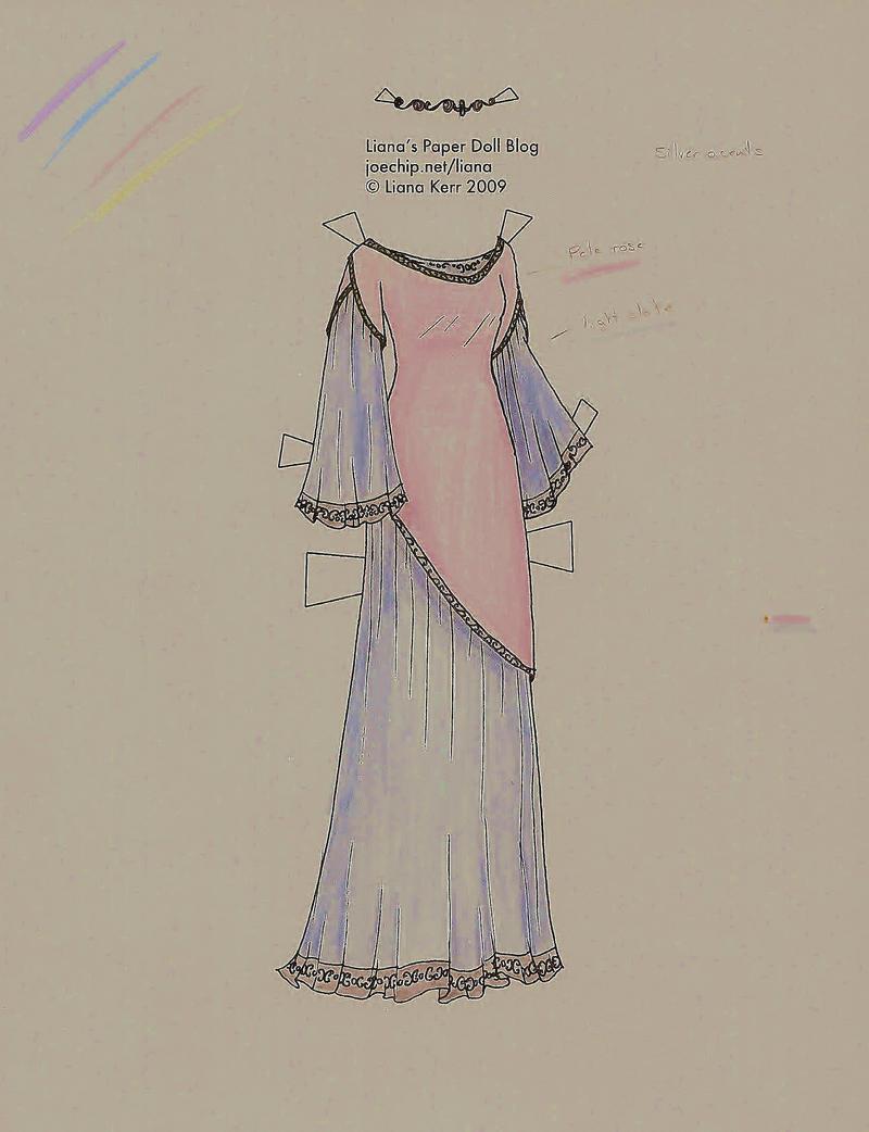 Elven Dress by Liana