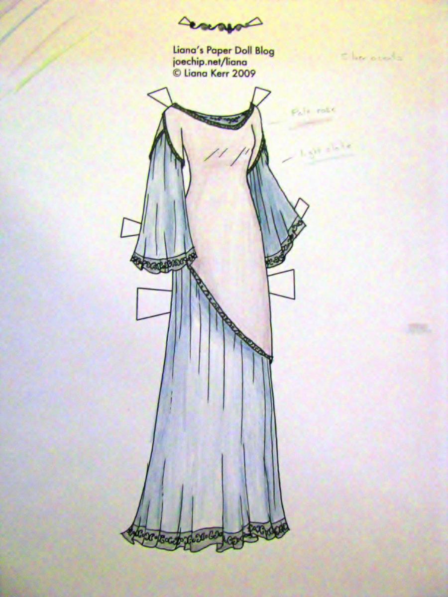 Elven dress 2