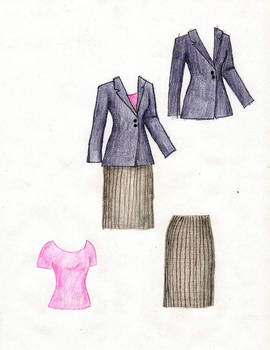 Suit set for Liana