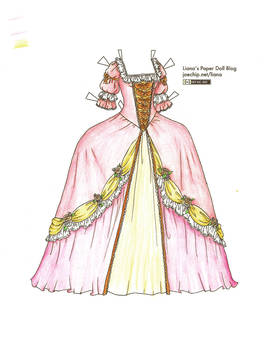 1700's gown by Liana