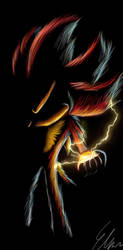 Shadow The Hedgehog by Default-Deviant