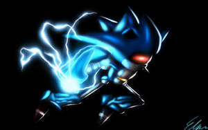 Mecha Sonic by Default-Deviant
