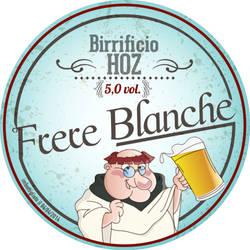 Etichetta per una birra artigianale Frate by euriante