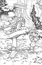 Alice in Wonderland Brucaliffo