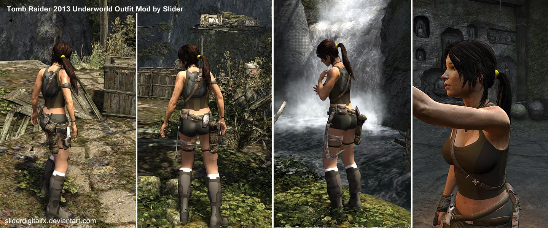 Tomb Raider 2013 Underworld Outfit Mod.