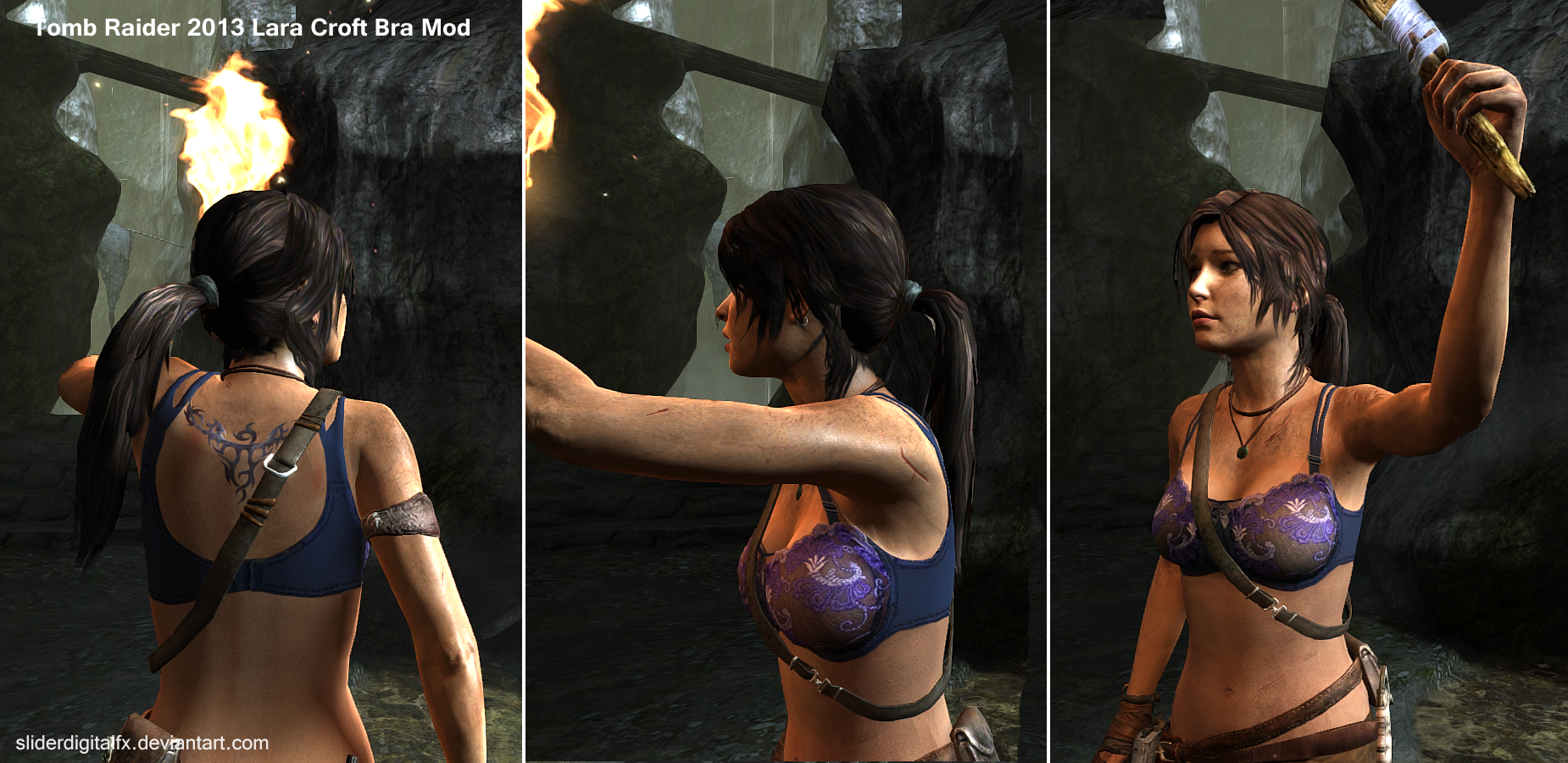 Tomb raider inframundo big boobs mod