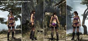 Tomb Raider 2013 Lara Croft Full Lingerie Mod