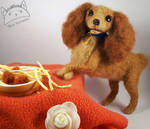 Lady (Lady and the Tramp) - needle felted