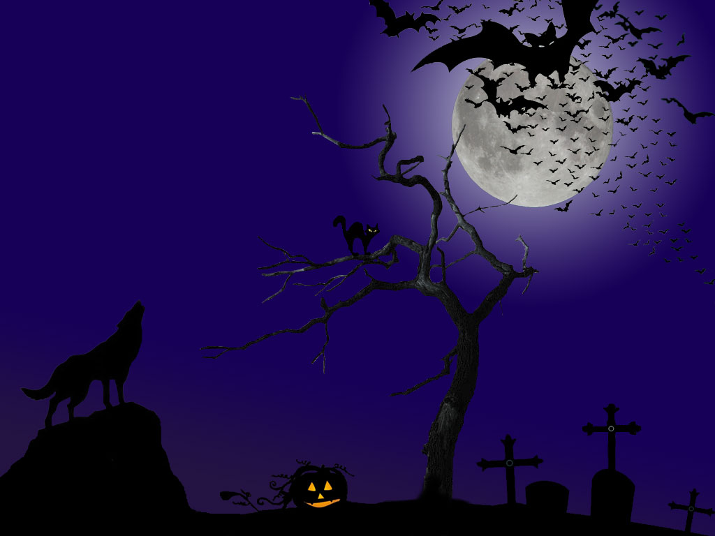 Top Wallpaper Halloween Purple - halloween_wallpaper_by_sylvixinae  Perfect Image Reference_639218.jpg