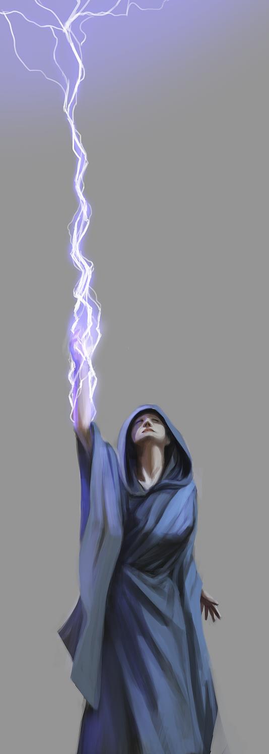 Lightning Wizard Lightning wizard sketch byLightning Wizard