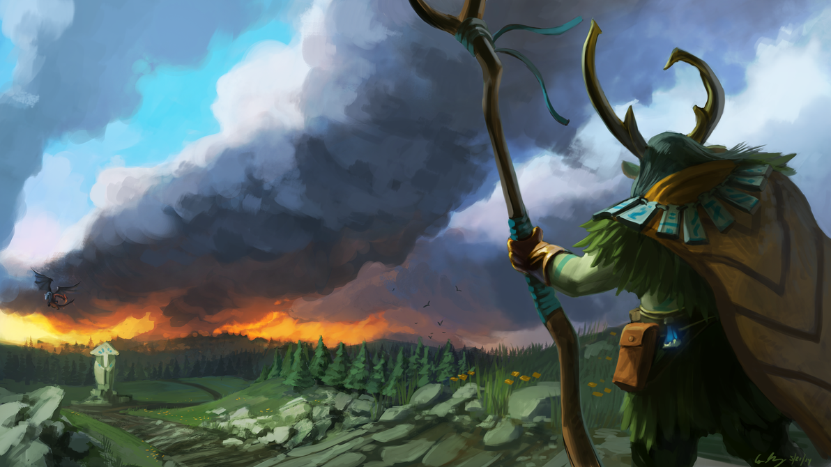 nature s prophet dota 2 by entroz on deviantart